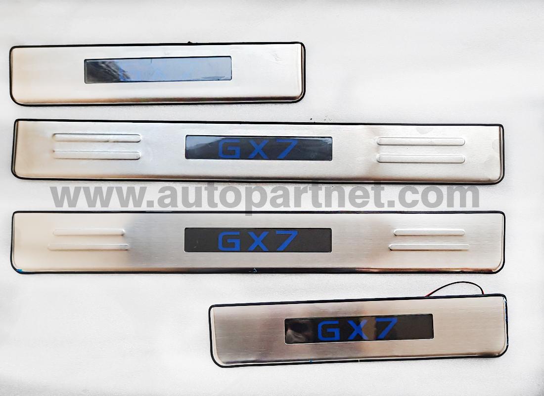 استیل پارکابی چراغ دار جیلی gx7